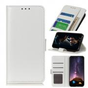 Taltech Crazy Horse Wallet Cover for Samsung Galaxy A21s - White