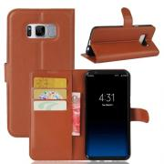 Taltech Wallet Cover for Samsung Galaxy S8 Plus - Brown