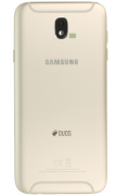 Galaxy J7 2017 Back Cover DUOS Gold