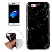 "Taltech iPhone 7/8 Soft Case - ""Black Marble"""