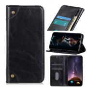 Taltech Magnetic Wallet Case in Leather for iPhone 13 Pro - Black