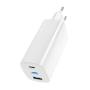 SiGN SiGN 65W Charger, USB-C PD, Fast Charging, MacBook Air, iPhone - White