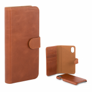 Champion Champion Wallet Case Leather for iPhone XS Max - Brown