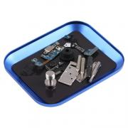Taltech Tray for Screws in Aluminum - Blue