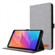Taltech Cloth Texture Cover for Huawei MatePad T8 - Grey