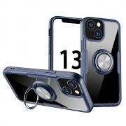 Taltech Kickstand Case with Ringholder for iPhone 13 - Blue