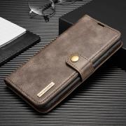 Taltech DG.MING 2-in-1 Wallet Cover for Samsung Galaxy S21 Plus 5G - Grey