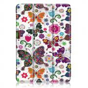 Taltech Tri-Fold Cover for iPad Air 10.9 (2020) - Butterfly & Flowers
