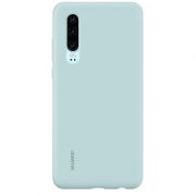huawei Huawei P30 Silicone Case Light Blue