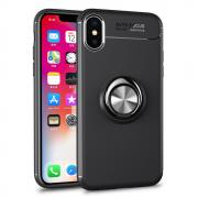 Taltech iPhone XS Cover w stand - Black