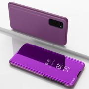 Taltech View Window Flip-cover for Samsung Galaxy S20 - Purple