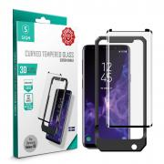 SiGN SiGN 3D Sceen Protector Tempered Glass for Samsung Galaxy S9 Incl. Montage
