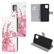 Taltech Cover for Samsung Galaxy A42 - Pink Flower
