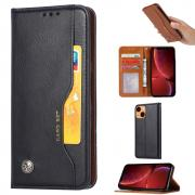 Taltech Magnetic Wallet Case for iPhone 13 - Black