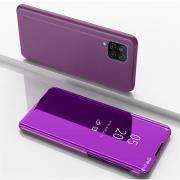 Taltech Window View Flip Wallet Cover for Samsung Galaxy A12 - Purple