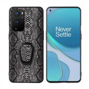 Taltech Kickstand Case with Ringholder for OnePlus 9 Pro - Snake Texture
