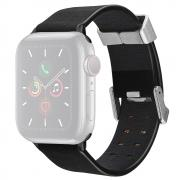 Taltech Leather Watchband for Apple Watch 6/SE/5/4 44mm & 3/2/1 42mm - Black