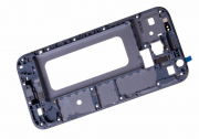 Samsung Galaxy J3 2017 Front Cover Frame Silver