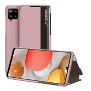 Taltech Flip Cover for Samsung Galaxy A42 - Rose Gold