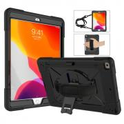 "Taltech Case with Strap & Stand for iPad 10.2"" 2019/2020 - Black"