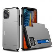 Taltech Case with Card Holder for iPhone 12 /12 Pro - Grey