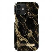 iDeal of Sweden iDeal Fashion Case for iPhone 12 Mini - Golden Smoke Marble