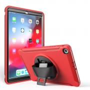 "Taltech Case with Built-in Stand for Samsung Galaxy Tab A 10.1"" 2019 - Red"