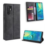 Vintage Style Cover for Huawei P30 Pro - Black