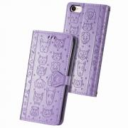 Taltech Wallet Cover for iPhone 6/7/8/SE (2nd Gen) - Cat Dog Pattern