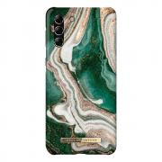 iDeal of Sweden iDeal Fashion Case for Samsung Galaxy S21 Plus - Golden Jade Marble