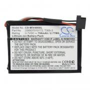 GPS battery for Mitac Mio Moov 400, Mio Moov 405