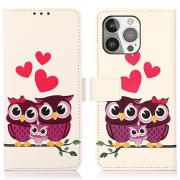 Taltech IPhone 13 Pro cover- Owl Family