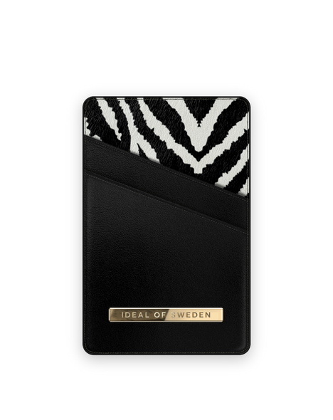 iDeal of Sweden iDeal Magnetic Cardholder Universal - Zebra Eclipse