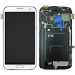 Galaxy Note 2 Display Digitizer white