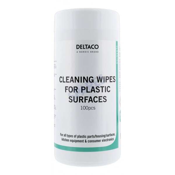 Deltaco Cleaning Wipes Alcohol Free - Spares